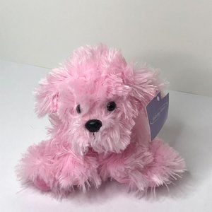 """Holiday Home Puppy Plush Fluffy Pink 7"""""""